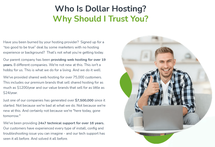 Dollar Hosting By Richard Madison Review