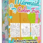 Mermaid Color Fun By Pixelcrafter Review – Grab 30 Beautiful Mermaid Coloring Pages… You Can Use To Publish Your Own Children's Coloring Books