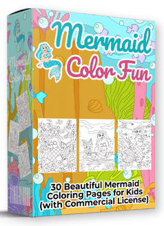 Mermaid Color Fun By Pixelcrafter Review