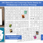 Motivational and Inspirational Card Deck Pack PLR By Happydogisland Review – Get in on The Lucrative Card Deck Market with These Fully Editable and Customizable Inspirational Card Decks, Ready for Professional or At-Home Printing and Packaging…All with Commercial Use Rights