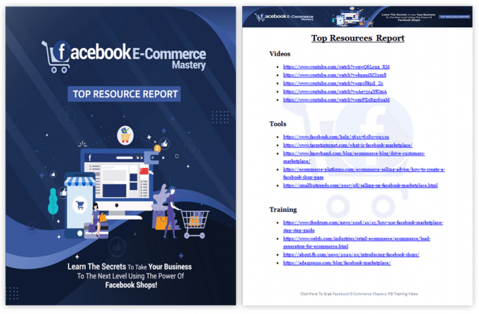 Facebook E-Commerce Mastery PLR By Firelaunchers Review