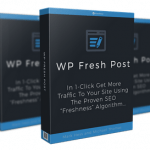 "WP Fresh Post By Michael Thomas Review – Brand New SEO WordPress Plugin Automatically Get More Free Traffic Using The Proven SEO ""Freshness"" Algorithm…"