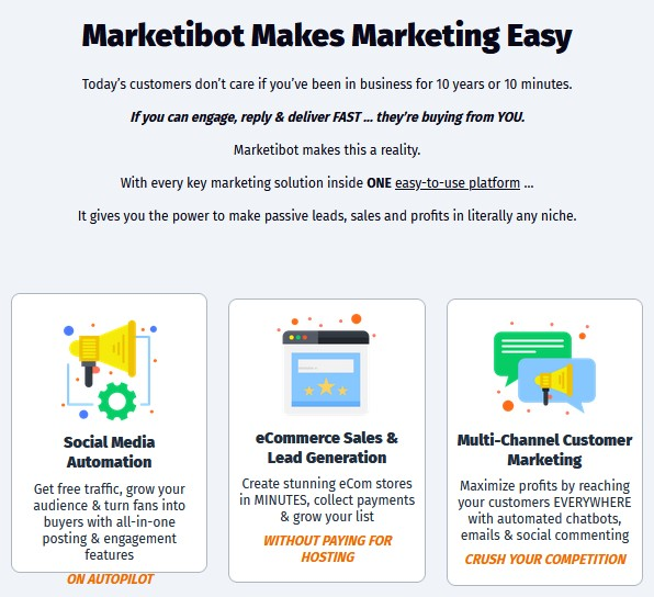MarketiBot By Demetris Papadopoulos Review