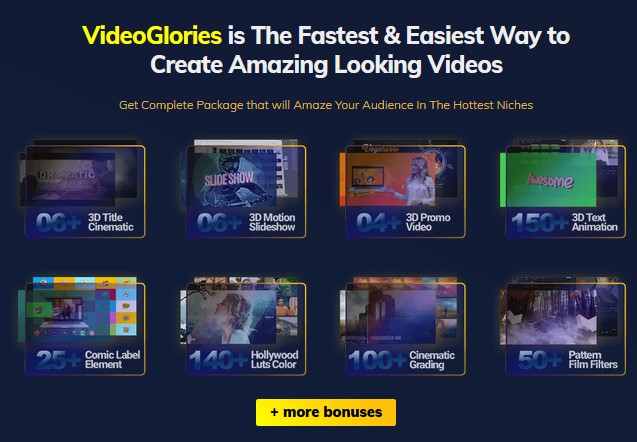 VideoGlories PRO By Bayu Tara Wijaya Review