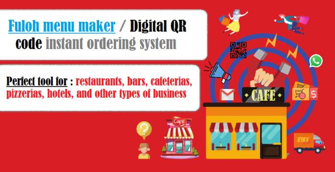 Fuloh Digital QR Code Menu Maker System
