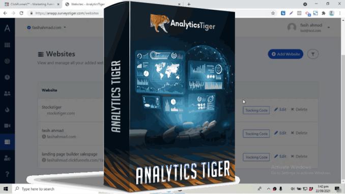 AnalyticsTiger Heatmap Tracking App