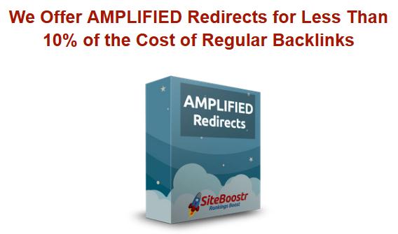 Site Boostr DA90+ Amplified Redirects