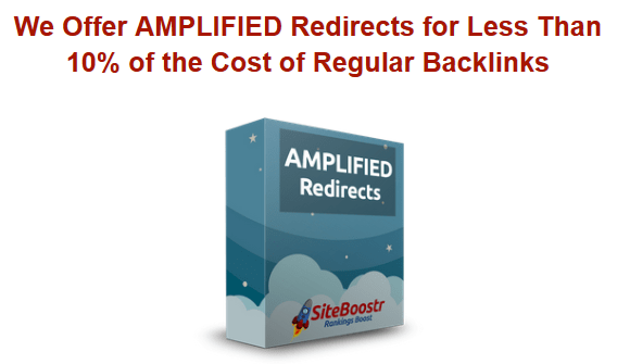 Site Boostr DA90+ Amplified Redirects