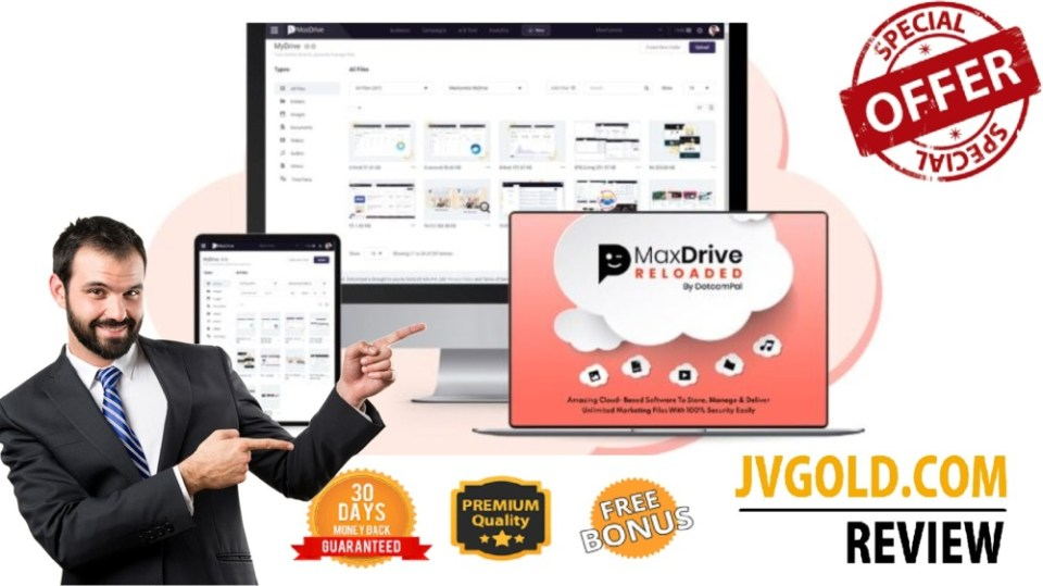 MaxDrive Reloaded Pro Review & Demo Video By Dr. Amit Pareek