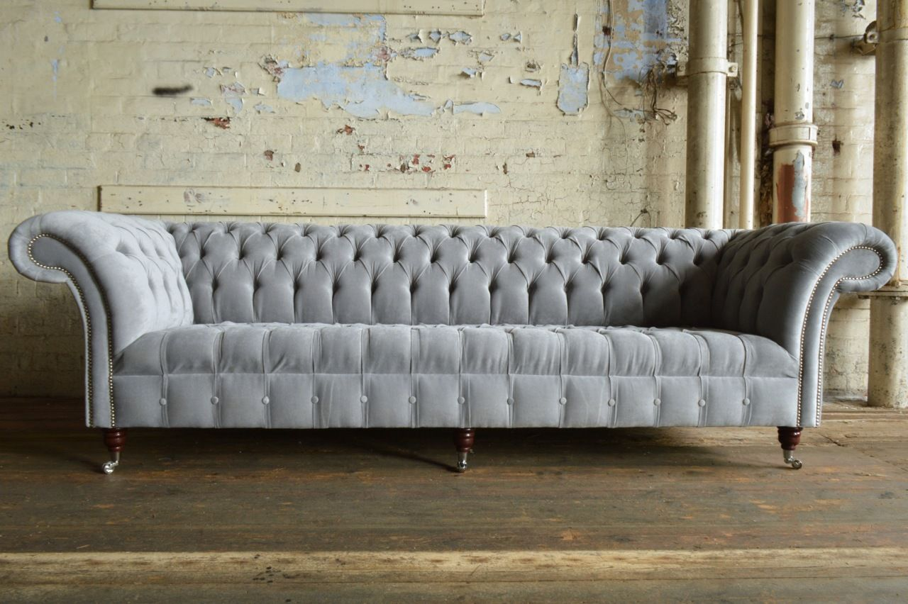 Xxl Chesterfield Sofa Original Chesterfield Möbel 5 Sitzer 4 Sitzer 3 Sitzer Aus