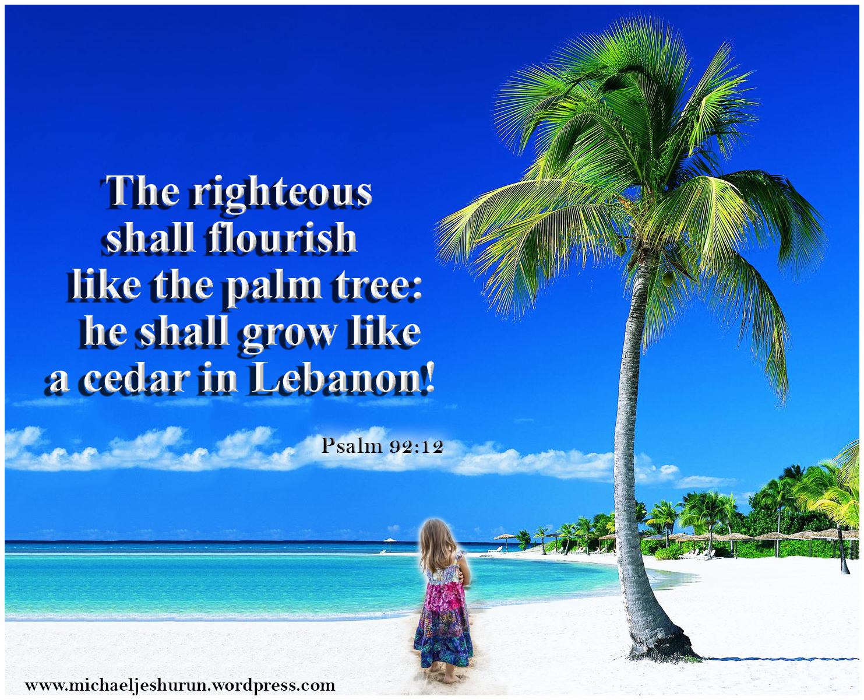 Love And Prayer Psalm 92 14