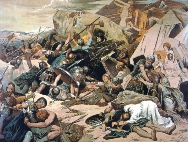 Battle on Mons Lactarius by Alexander Zick