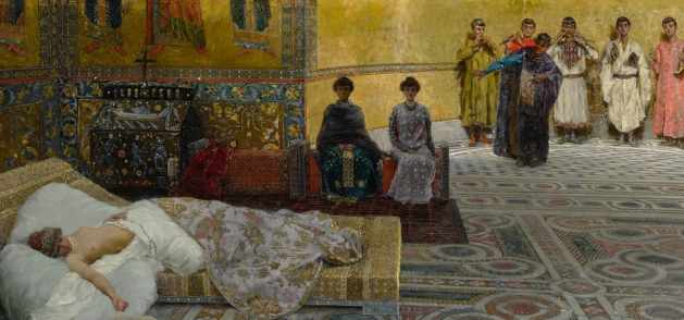 Theodora by Giuseppe de Sanctis
