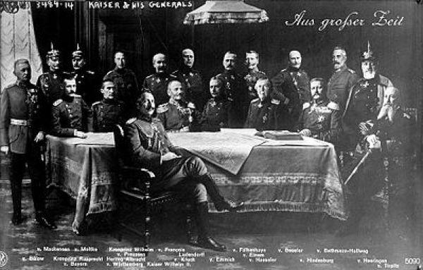 Kaiser Wilhelm II and the German General Staff