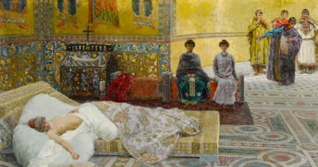 Cleopatra by Giuseppe de Sanctis