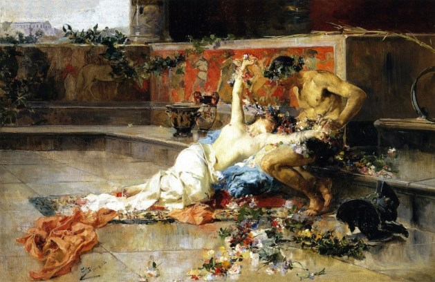 Messalina - painting by Joaquin Sorolla