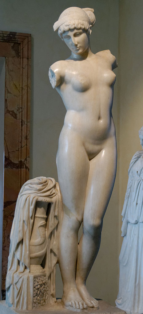 Esquiline Venus in the Capitol Museum - Woman and Snake