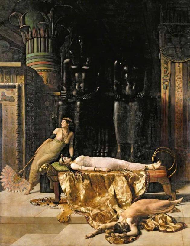 The Death of Cleopatra by John Collier