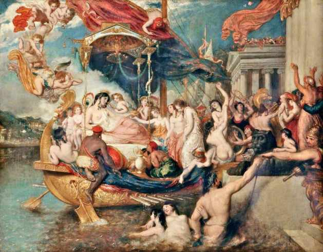 The Triumph of Cleopatra by William Etty
