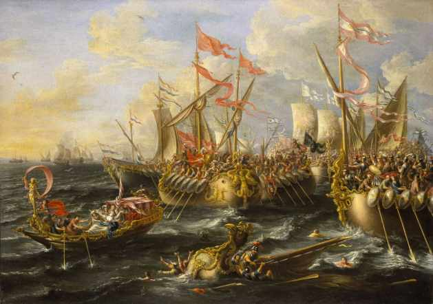 The Battle of Actium - September 2, 31 BC