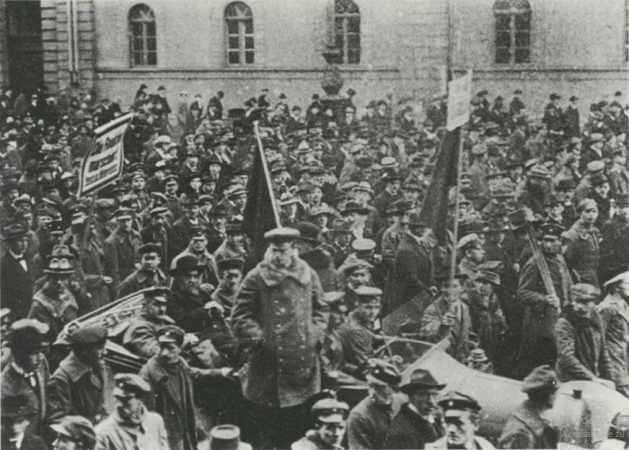 Pro-Eisner Demonstration, February 16, 1919