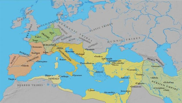 Germanic Kingdoms of the West