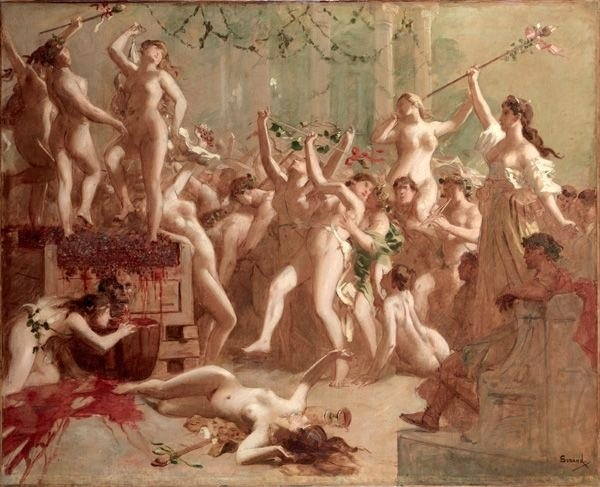 Gustave Surand - The competition between Messalina and Scylla