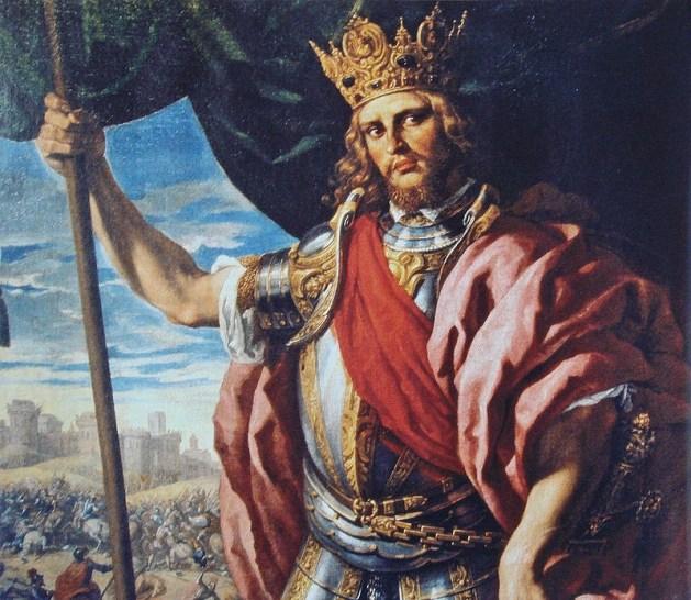 Theodoric the Great, by Fabrizio Castello (1560-1617)