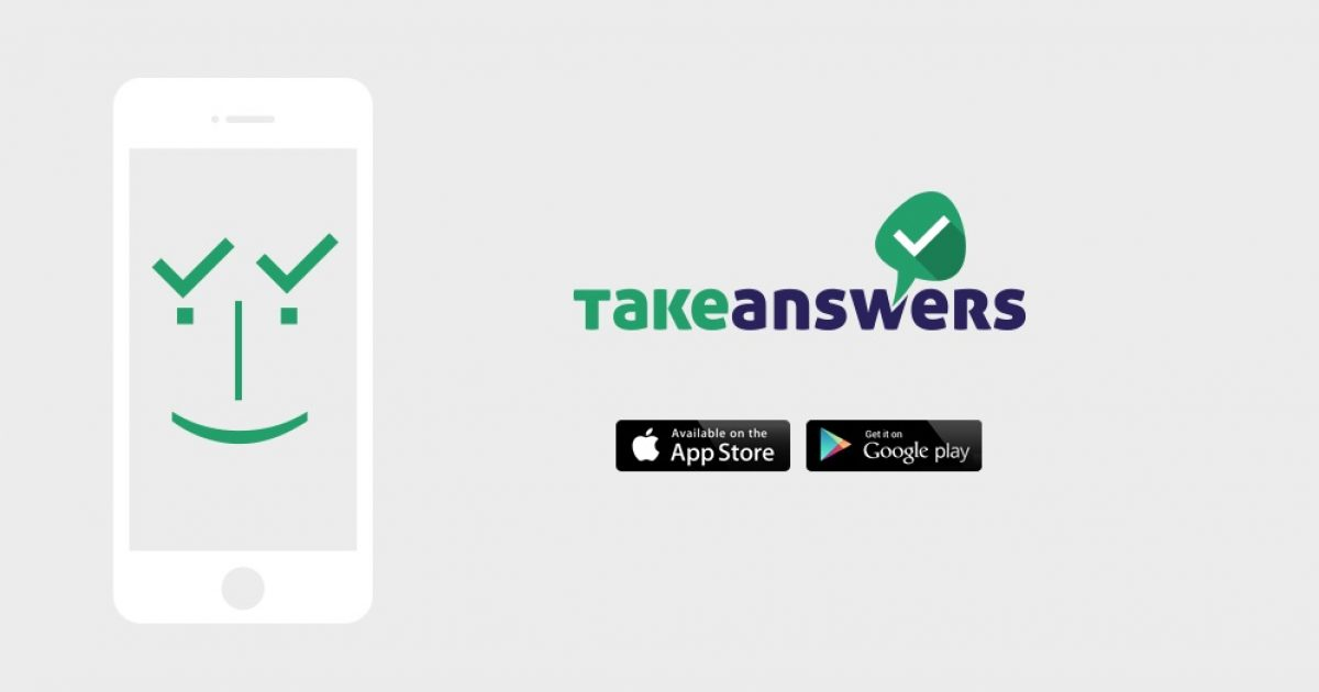 Take Answers: A new mobile App aims at disrupting the