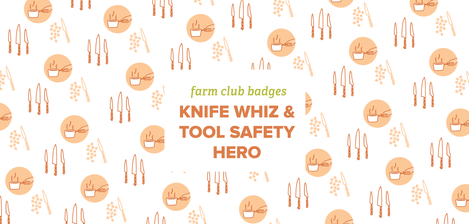 Farm Club Badges Knife Whiz Amp Tool Safety