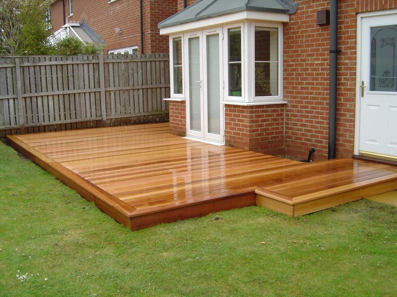 Garden Decking - JW Home Improvements