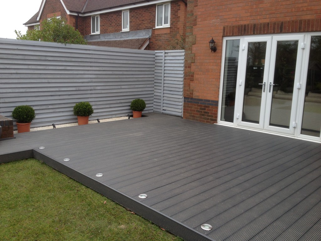 Winsome Garden Decking Ideas Uk Together With Inspiring