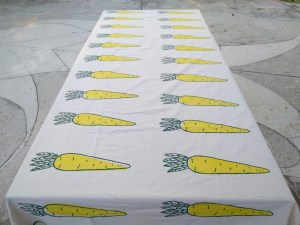 Table Cover – Raddish Pattern
