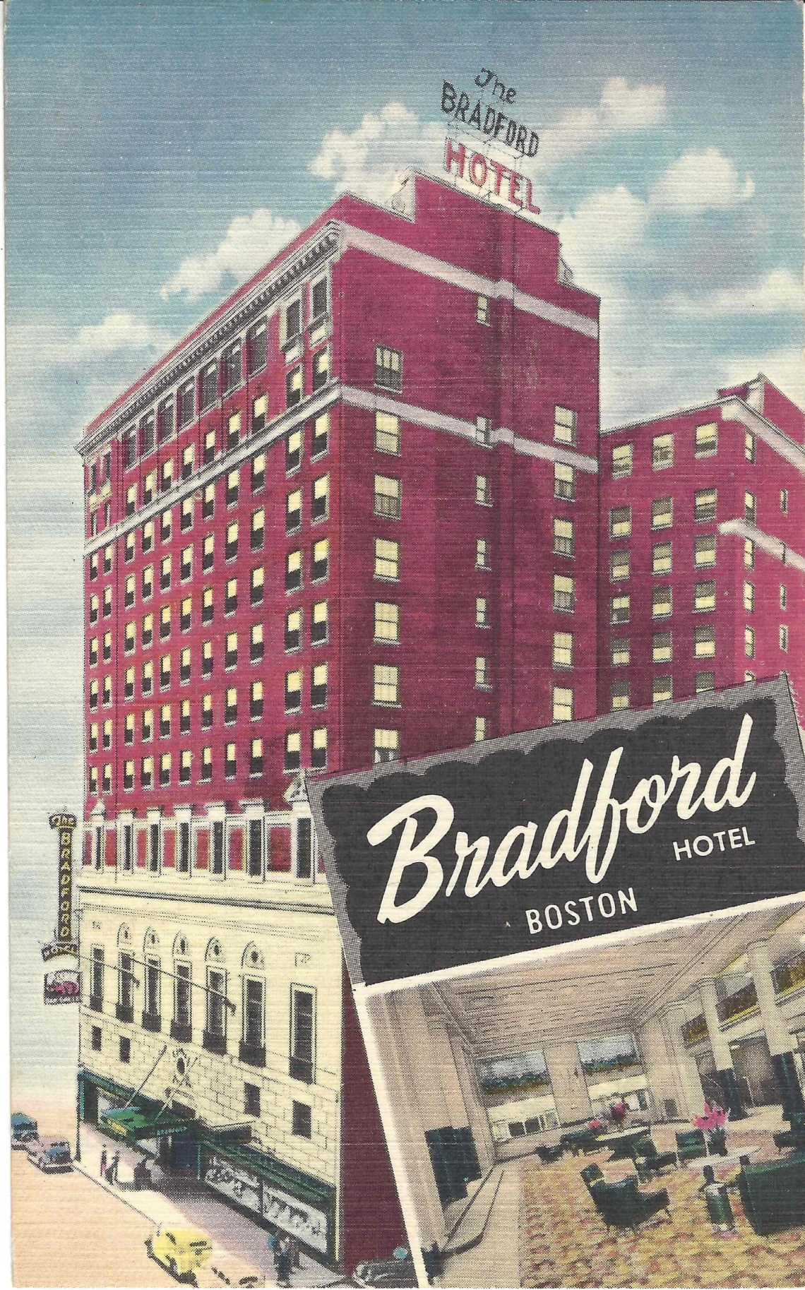 Bradford Hotel, Boston, Mass