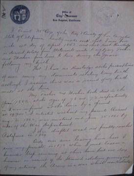 frank torrey letter