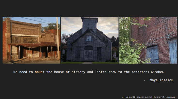 Haunt the house of history