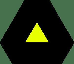12-cell triangular neighborhood