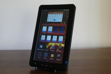 JWF eReader-6000 Home Screen