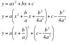 Assignment 2 Transforming Parabolas