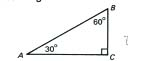 Worksheet-Special Right Triangles