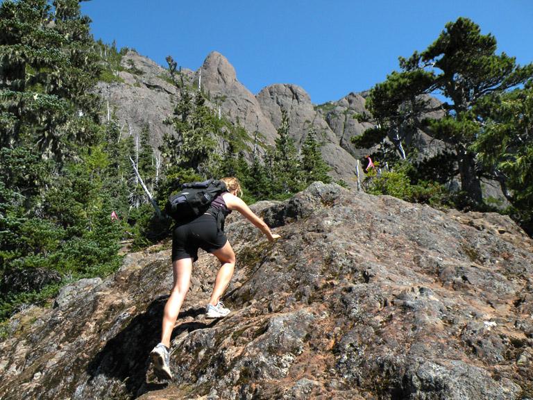 Arrowsmith hike LDSCN2451