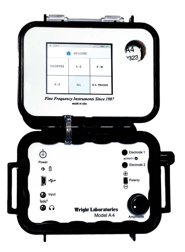A4 jwlabs rife mcahine frequenxy instrument touch screen details