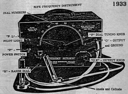 rife machine technical aspects original royal rife 1933