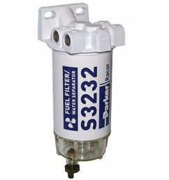 racor 660r rac 01 fuel filter water separator with plastic bowl 10 micron spin on element [ 1000 x 1000 Pixel ]