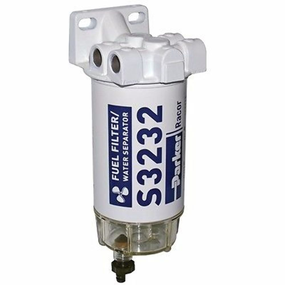 medium resolution of racor 660r rac 01 fuel filter water separator with plastic bowl 10 micron spin on element