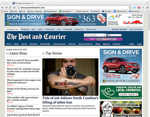 Cover of Post & Courier Screenshot