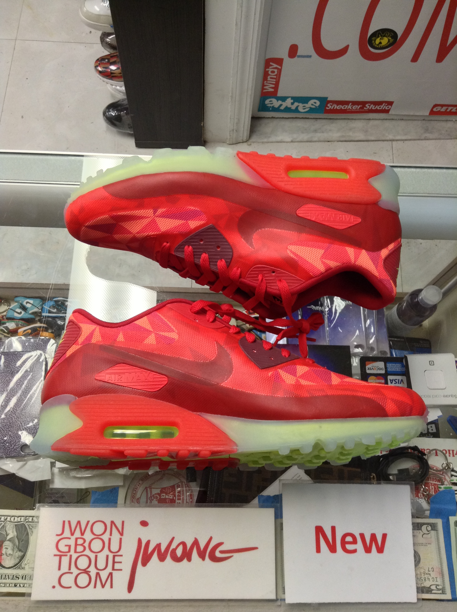 fe6d7aabb9 2014 Nike Air Max 90 Ice Gym Red | Jwong Boutique