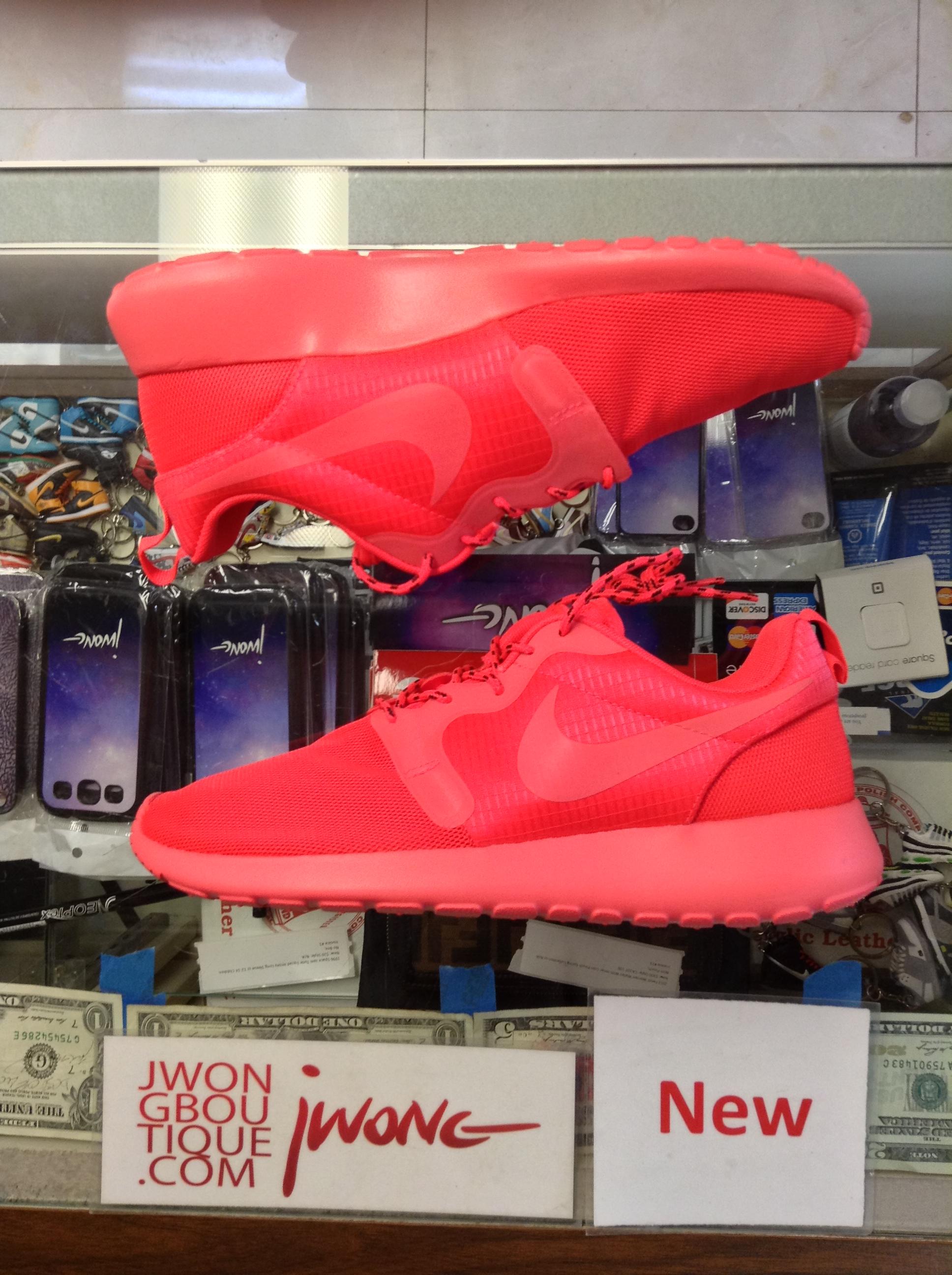 size 40 de034 71f16 2014 Nike Rosherun Hyperfuse Laser Crimson Men