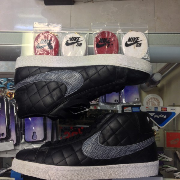 timeless design 9fd1c 21acf 2006 Nike Blazer SB Supreme Black   Jwong Boutique