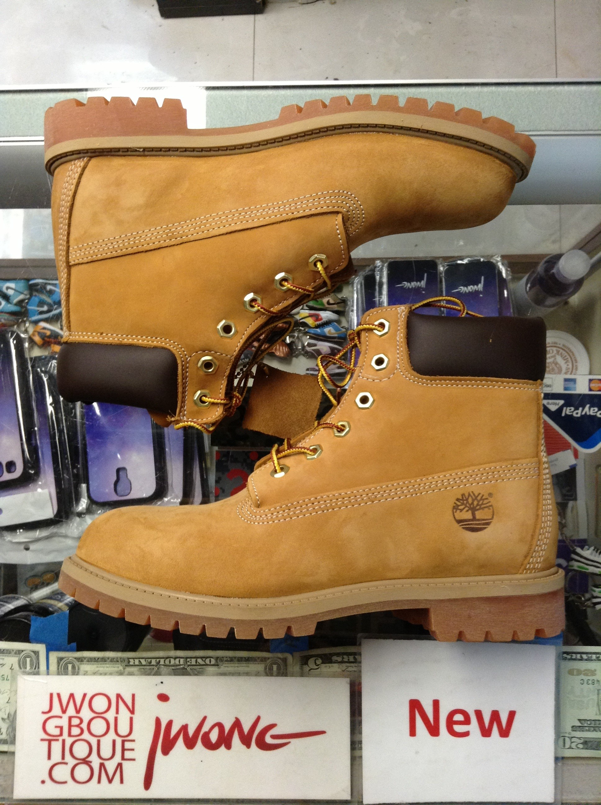 5a3843a2c4f 2014 Timberland Junior 6 Inch Boot Wheat